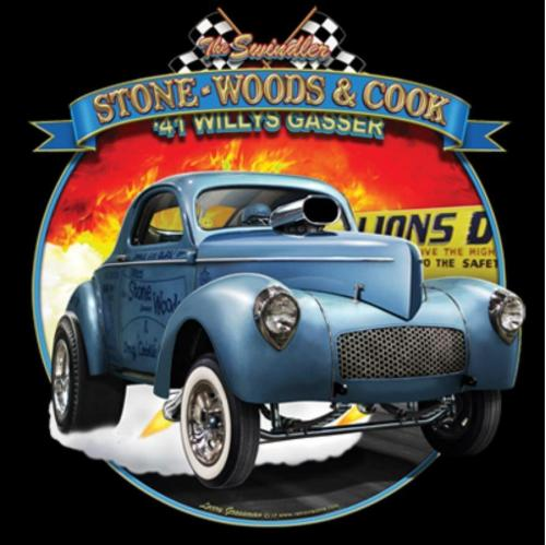 Stone Woods  Cook '41 Willys Gasser